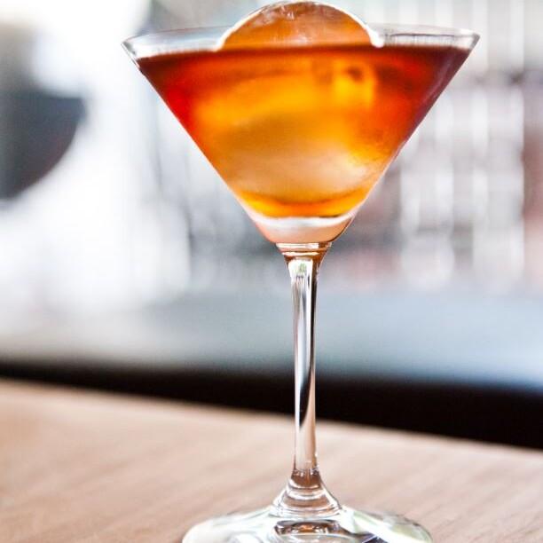 Manhattan drink opskrift